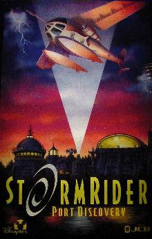 StormRider Port Discovery Tokyo DisneySea Poster