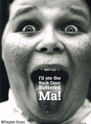 I'd ate the Back Door Buttered Ma