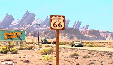 Route 66 Radiator Springs