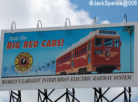 Big Red Car Billboard