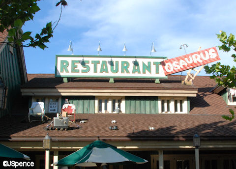Restaurantosaurus Sign