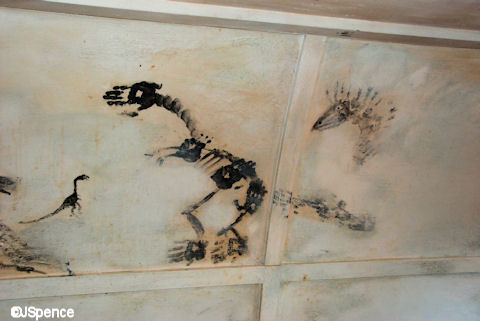 Grease Dinosaur