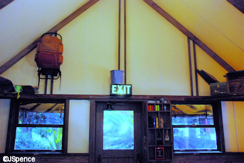 Bucket of Water over the Door