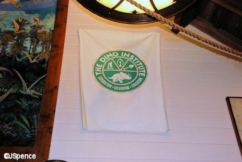 Dino Institute Flag