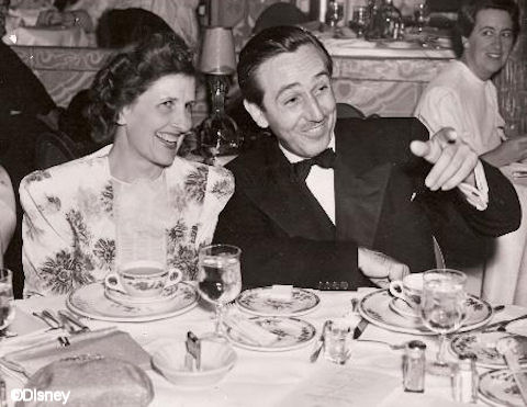 Walt met Lillian Disney