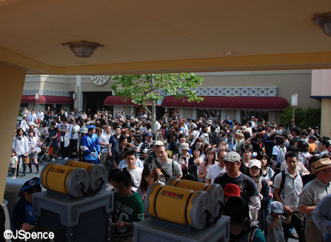 Monsters Inc. FastPass Queue