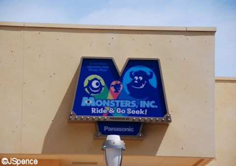 Monsters Inc. Sign