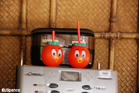 Orange Bird Mugs