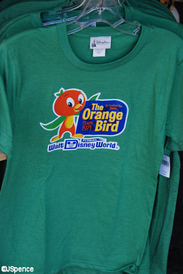 Orange Bird t-shirt
