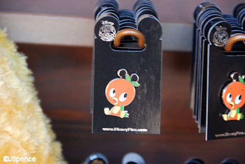 Orange Bird Pin