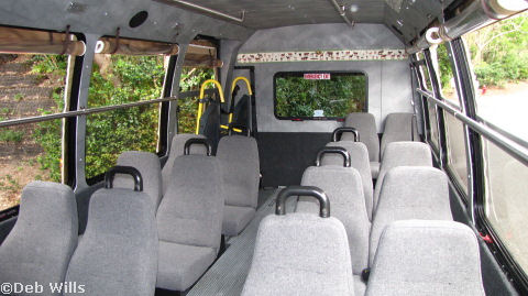 Safari Vehicle Interior