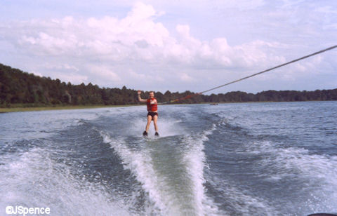 Jack Waterskiing