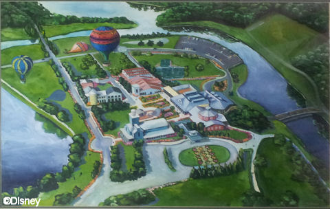 Disney Institute Concept Drawing