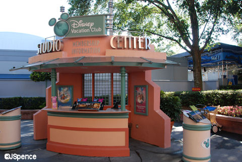 Membership Information Center at Disney's Hollywood Studios.