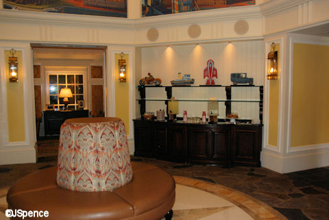 Saratoga Springs DVC Reception Area