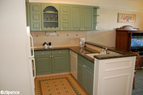 One Bedroom Kitchen