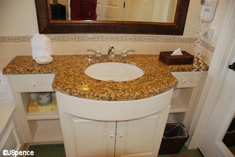 Vanity and Sink