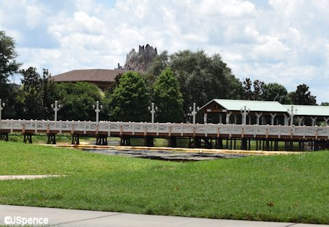 Footbridge to Downtown Disney