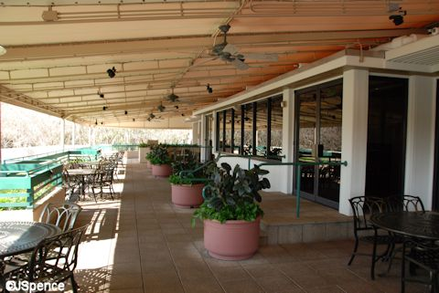 Turf Club Outdoor Dining