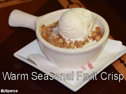 Warm Seasonal Fruit Crisp