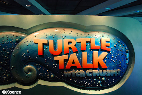 Turtle Talk with Crush Sign
