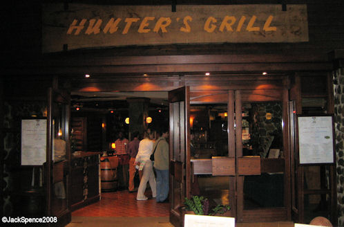 Hunter's Grill in Sequoia Lodge at Disneyland Paris