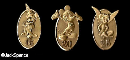 Service Anniversary Pins
