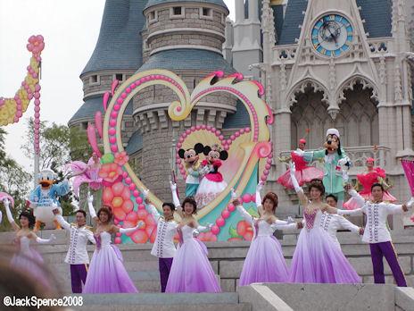 Show at Tokyo Disneyland