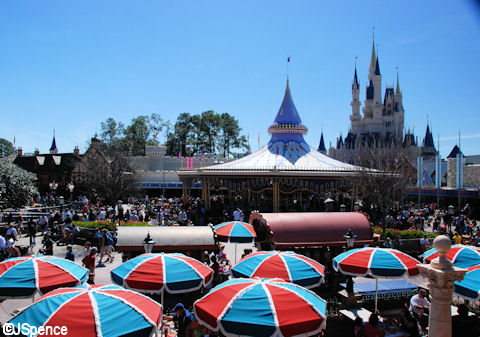 View of Fantasyland