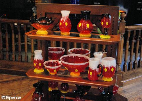 Mickey Glassware