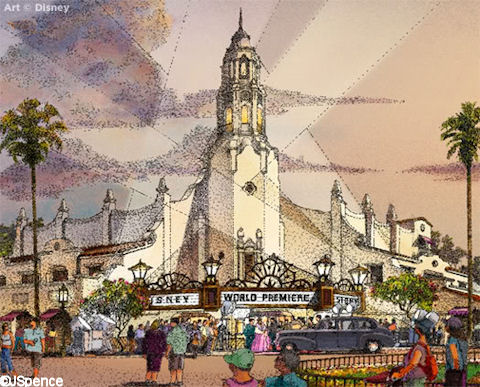Carthay Circle Theater - Disney's California Adventure