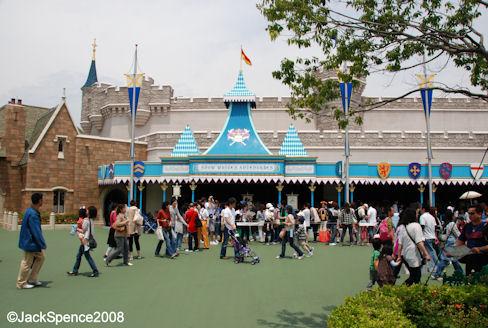 Snow White's Adventures Fantasyland Tokyo Disneyland