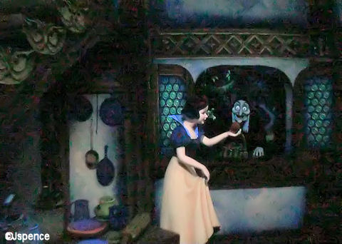 Snow White Accepting the Apple
