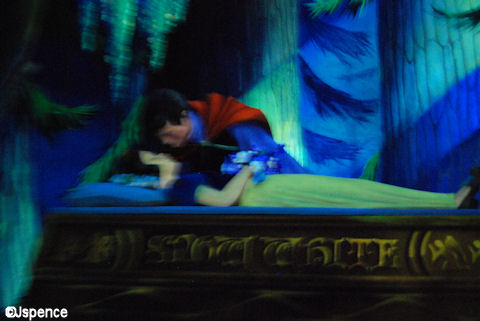 Waking Snow White with a Kiss