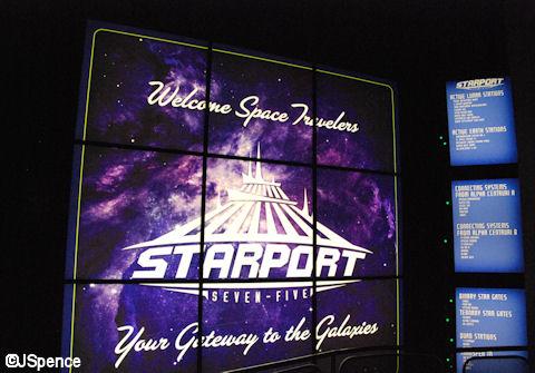 Starport Sign