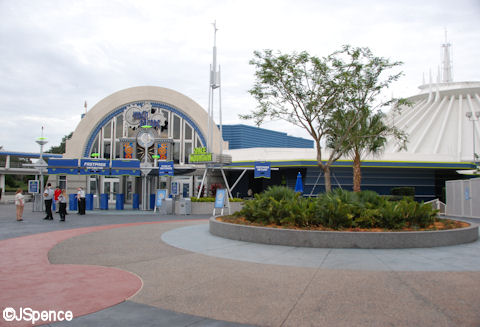 Space Mountain Plaza
