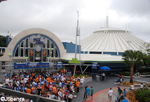 Line for Space Mountain