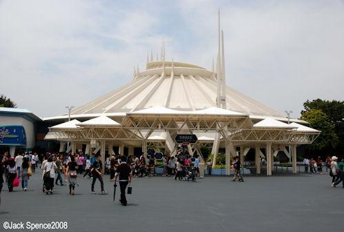 Space Mountain Tokyo Disneyland