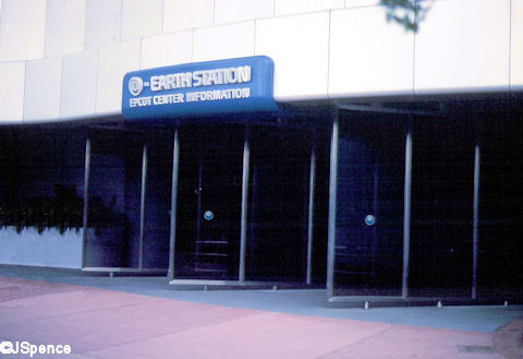 Earth Station Entrance