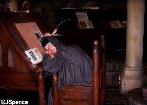 Monk in Scriptorium