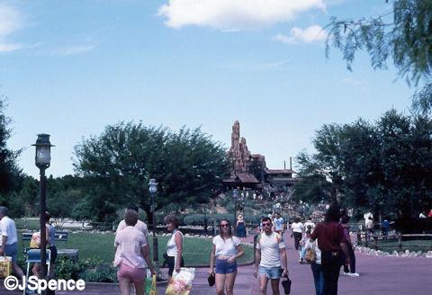 Magic Kingdom Thunder Mountain 1983