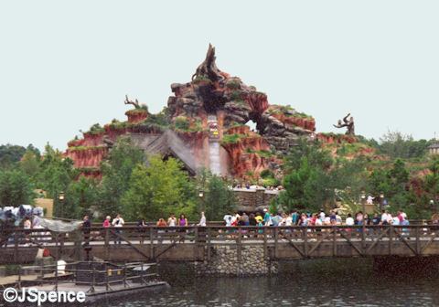 Completed Splash Mountain (Magic Kingdom)