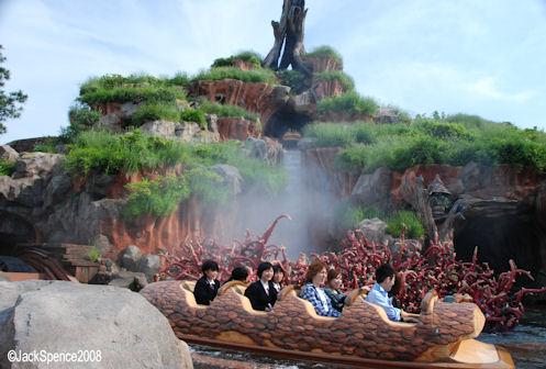 Splash Mountain Tokyo Disneyland