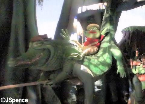 Brer Frog and Brer Gator