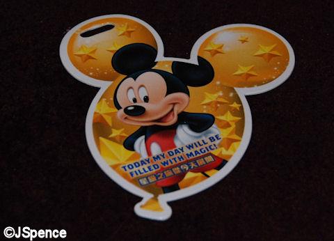 Mickey Cardboard Cutout