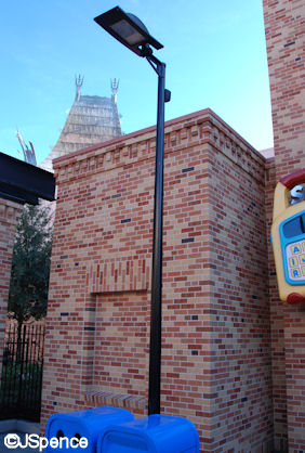 Pixar Place Lamp Post