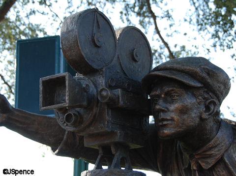 Statue of Camera