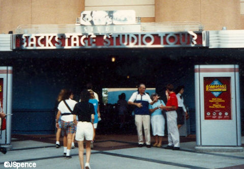 Backstage Studio Tour Entrance