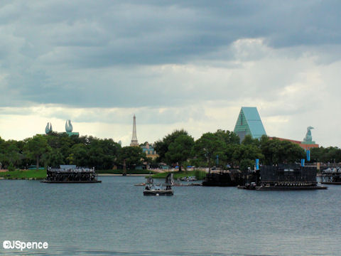 Swan & Dolphin Seen from Epcot