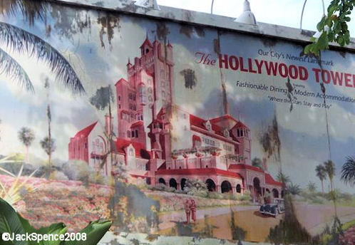Tower of Terror Billboard at Disney's Hollywood Studios